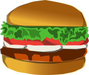 Buns Burger Clip Art at Clker.com.