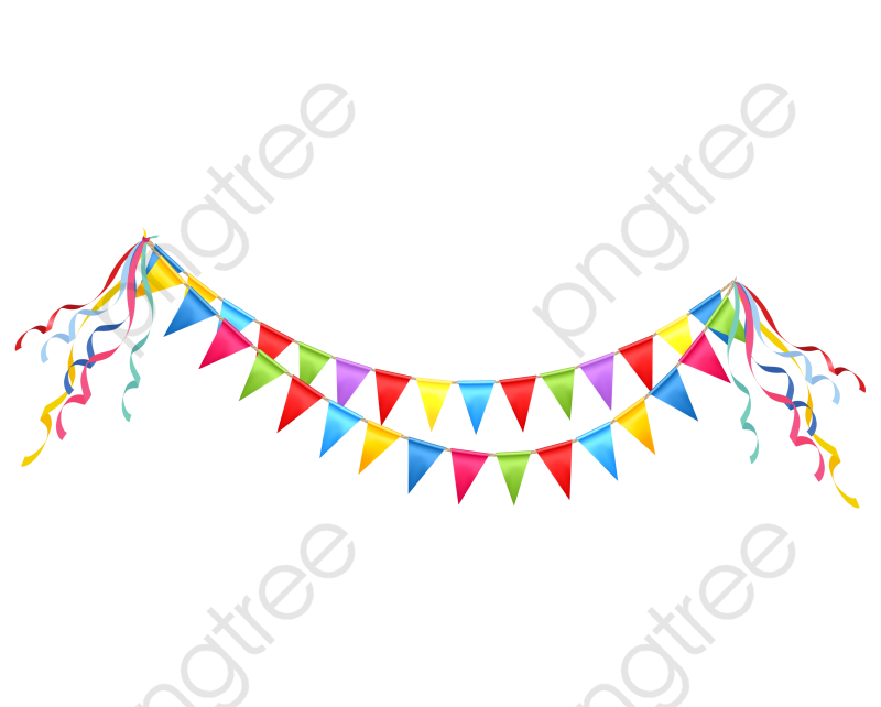 Bunting Background, Bunting Clipart, Color, Triangle PNG Transparent.