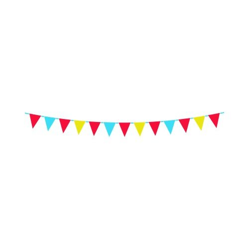 PARTY BUNTING C Clip Art.