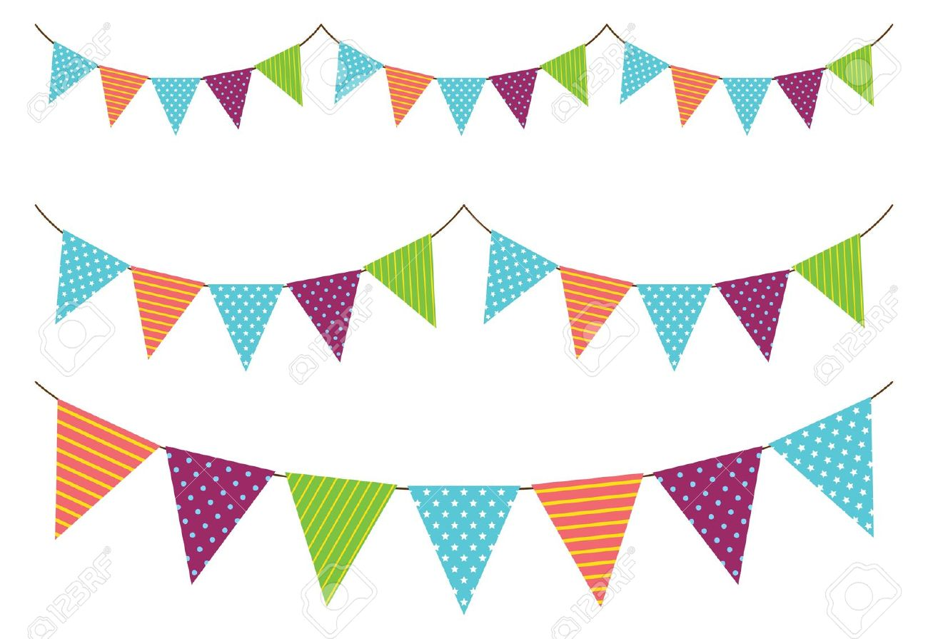Clipart bunting.