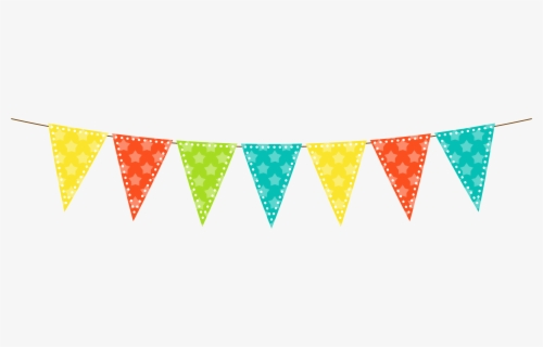 Free Flag Border Clip Art with No Background.