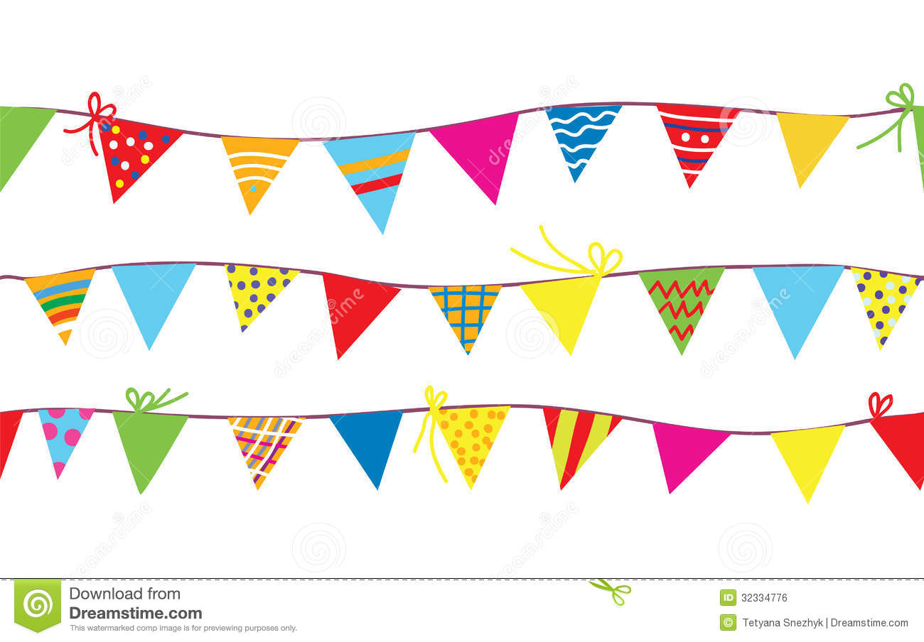 Bunting clipart free » Clipart Station.
