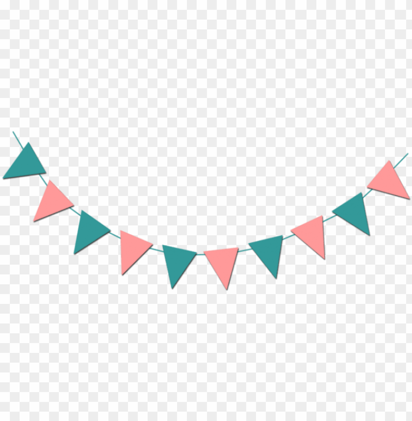 fall bunting banner clip art transparent background.