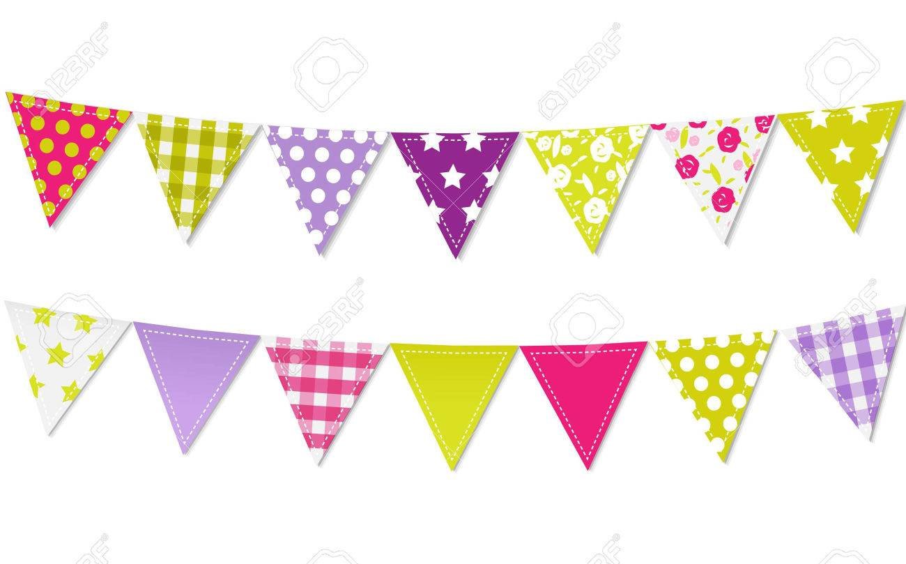 Bunting flag clipart 3 » Clipart Station.
