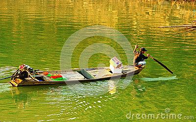 Beautiful Scene, Vietnam Country, Buon Me Thuot Travel Editorial.