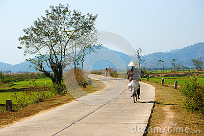 Beautiful Scene, Vietnam Country, Buon Me Thuot Travel Editorial.