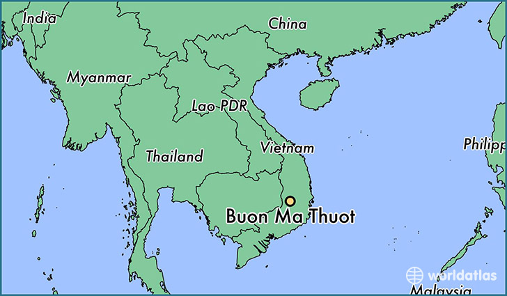 Where is Buon Ma Thuot, Viet Nam? / Where is Buon Ma Thuot, Viet.