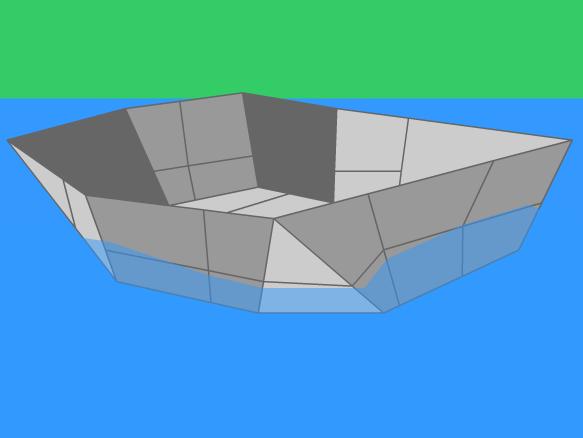 Buoyancy clipart #3