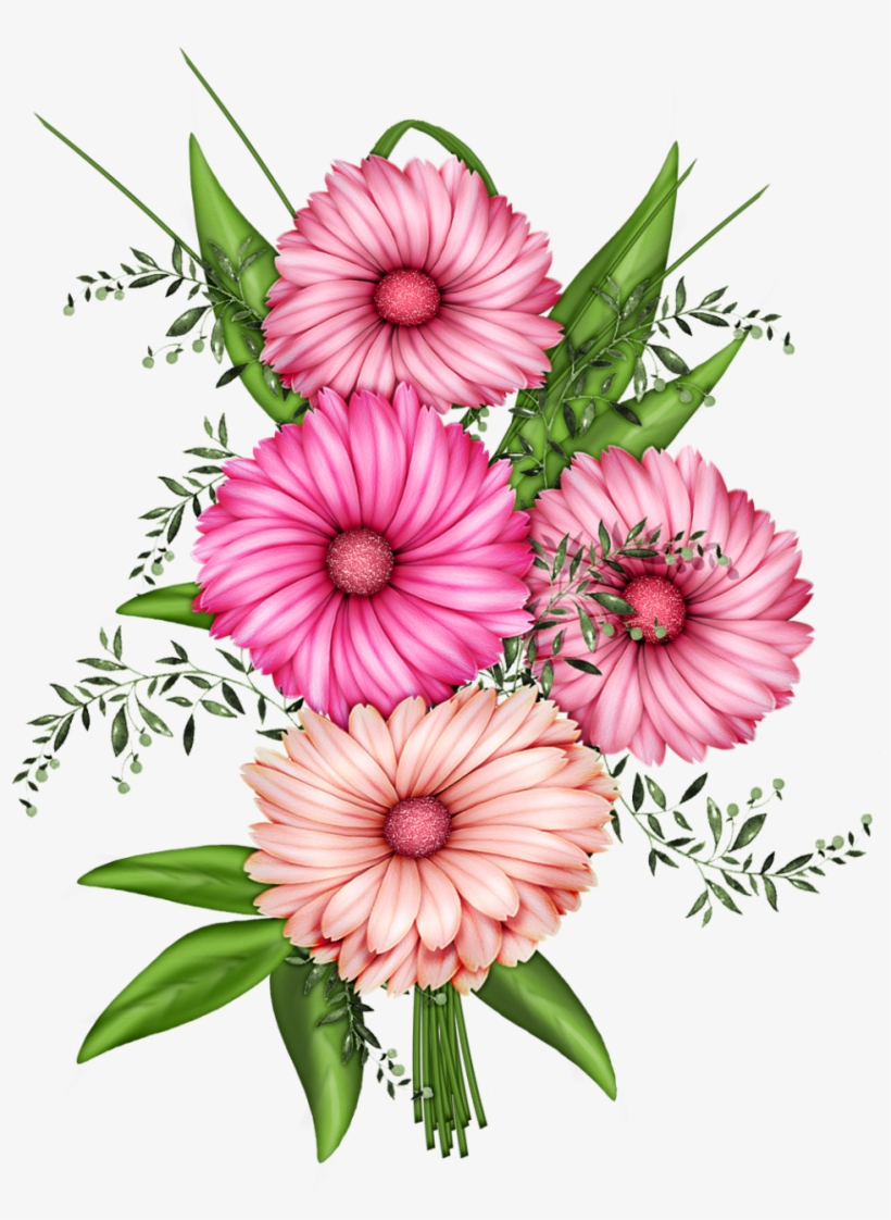 Flowers Transparent Png Clipart.
