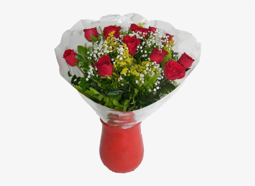 Buquê De Rosas Vermelhas.
