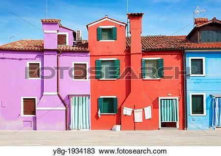 Stock Photo of Burano.