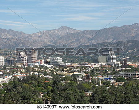 Picture of Strawberry Peak and Burbank k8140997.