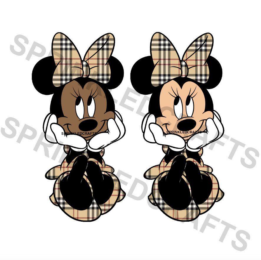 Burberry Dressed Minnie.