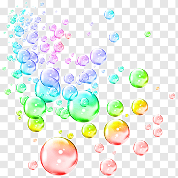 Burbujas cutout PNG & clipart images.