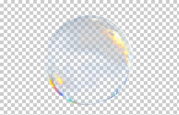 Ilustración de burbuja, única burbuja de jabón PNG Clipart.