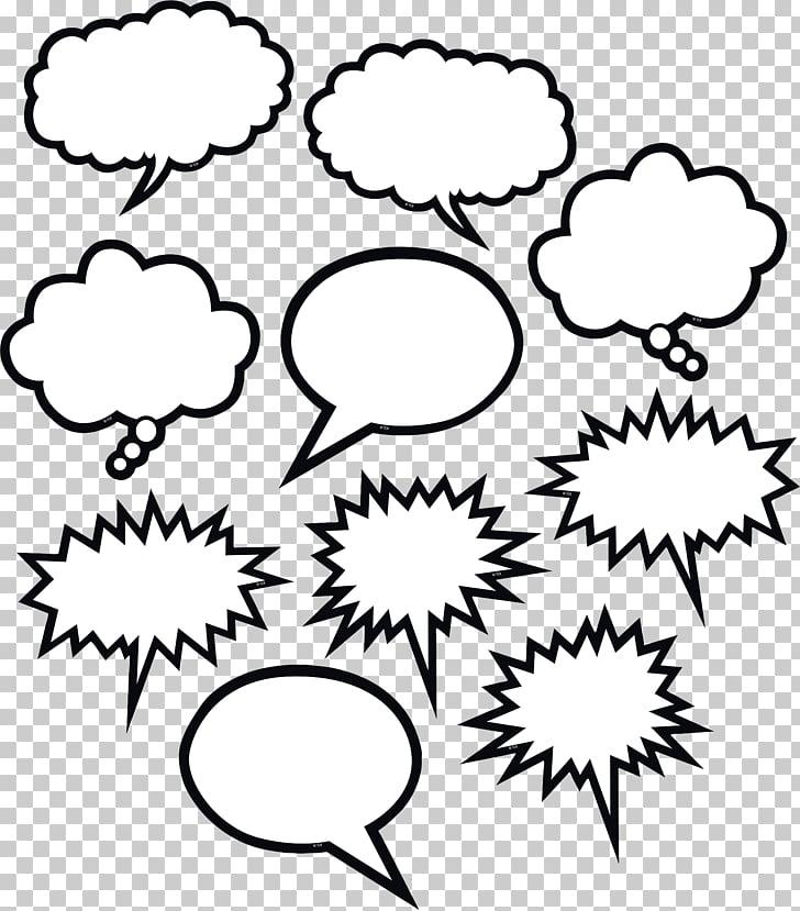 Burbuja de texto blanco y negro globo de discurso, burbuja.
