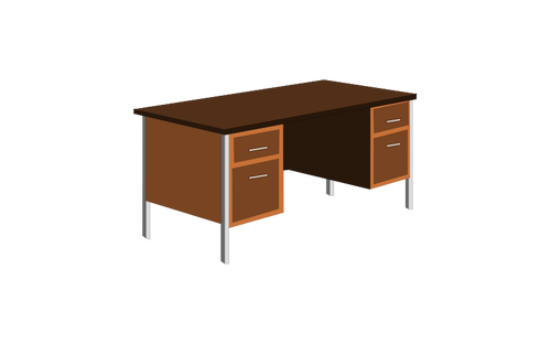 bureau clipart clipground. Black Bedroom Furniture Sets. Home Design Ideas