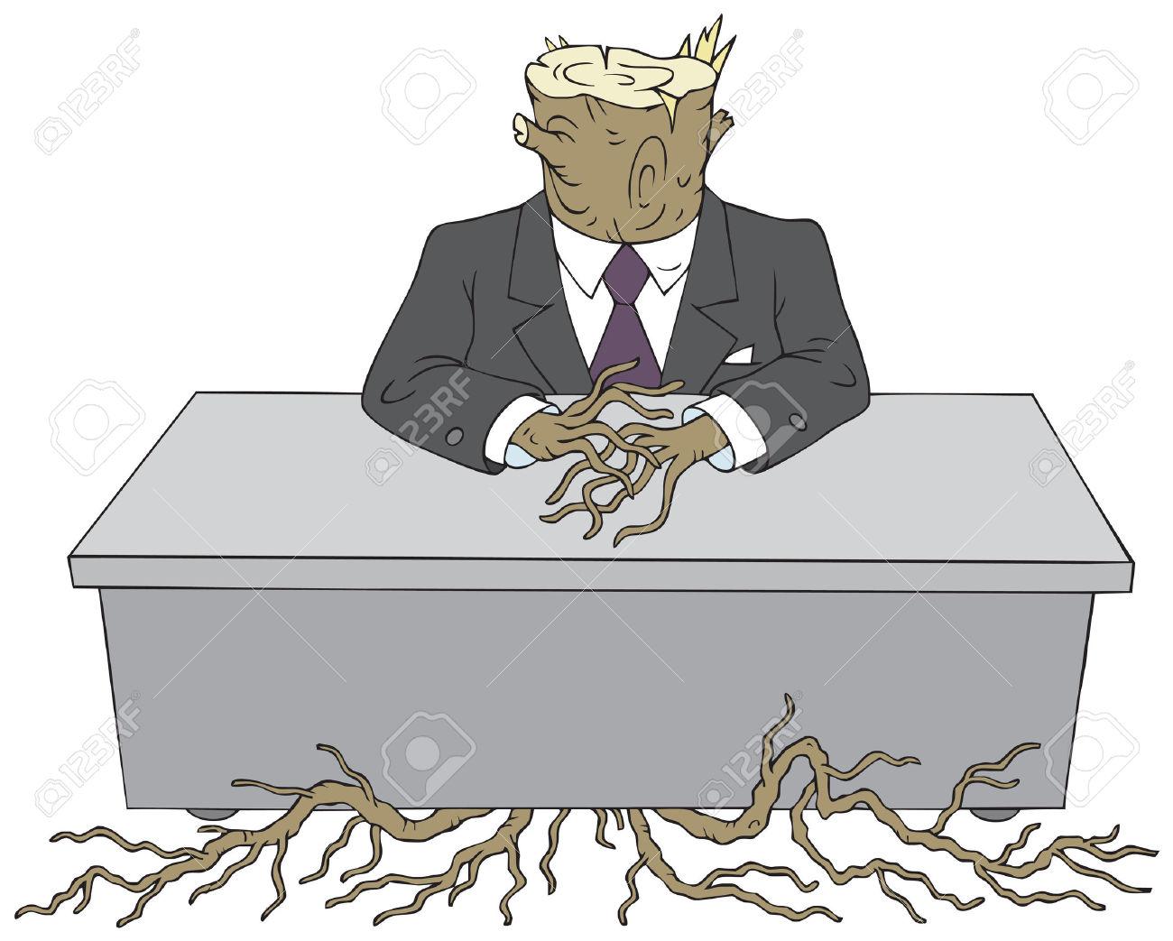 Bureaucrat Clip Art.