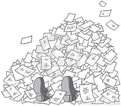 Bureaucracy Clip Art.