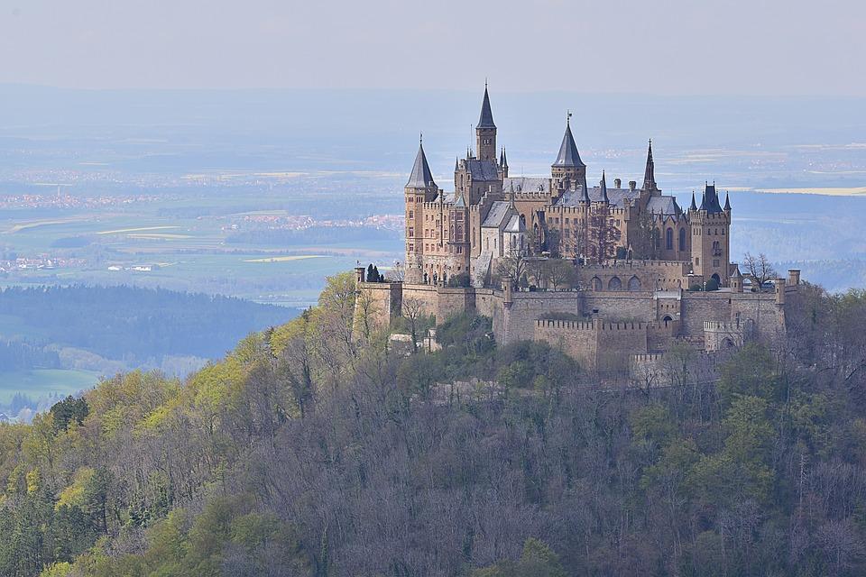 Free photo Mountain Castle Schlos Summer Burg Ehrenberg.
