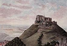 Hohenneuffen Castle.