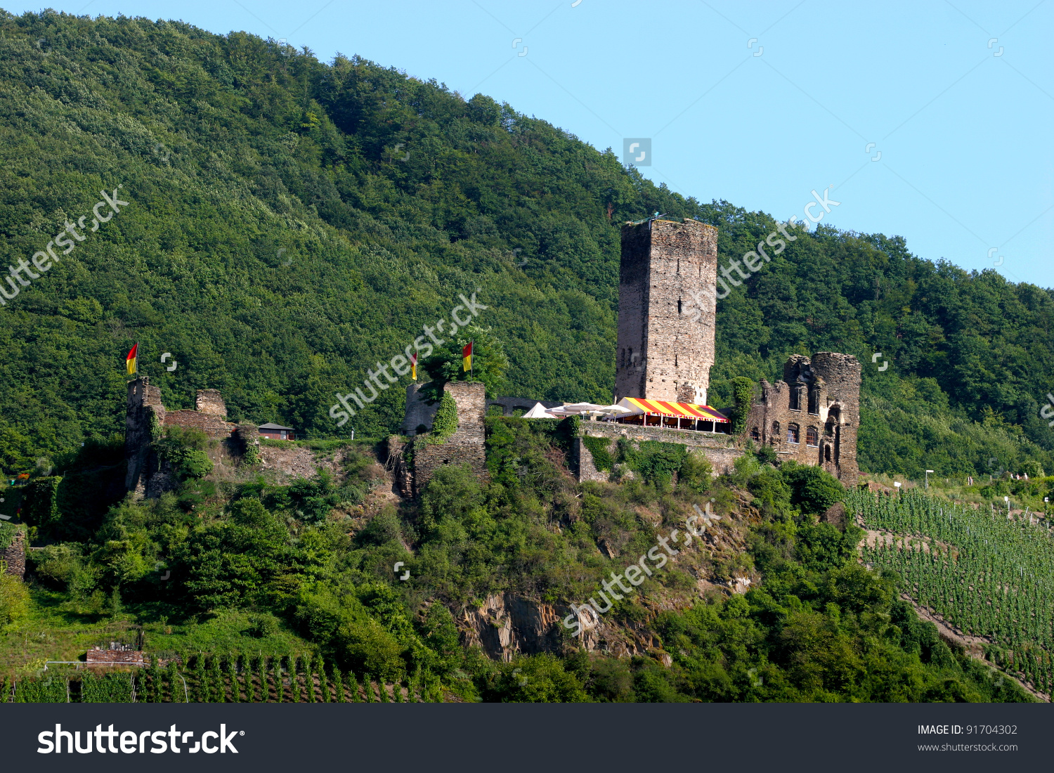 Metternich Castle In Beilstein,Germany Stock Photo 91704302.