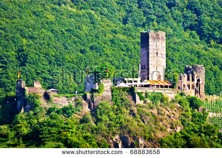 Metternich Castle In Beilstein,Germany Stock Photo 68883658.