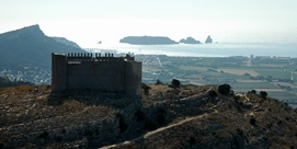 Burg von Montgrí.