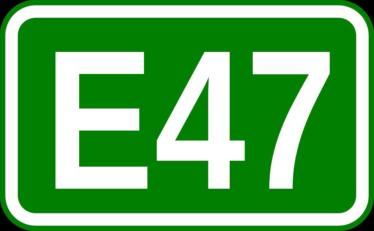 European route E47.