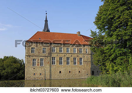 "Stock Photo of ""Burg Vischering Castle, Ludinghausen, Munsterland."