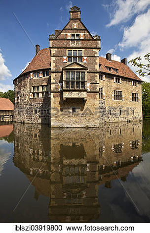 "Stock Photography of ""Vischering Castle, Ludinghausen."