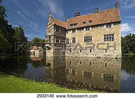 Stock Photograph of Castle Vischering, Germany 2933149.