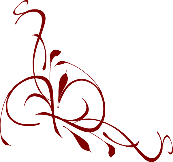 Burgundy Leaf Clipart.