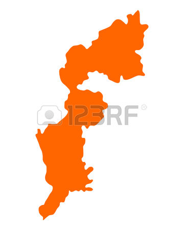 172 Map Of Burgenland Cliparts, Stock Vector And Royalty Free Map.