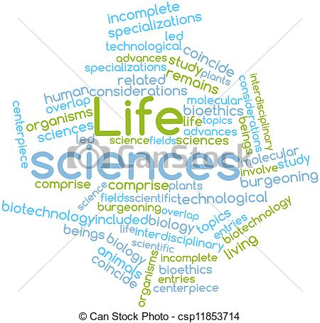 Clipart of Life sciences.
