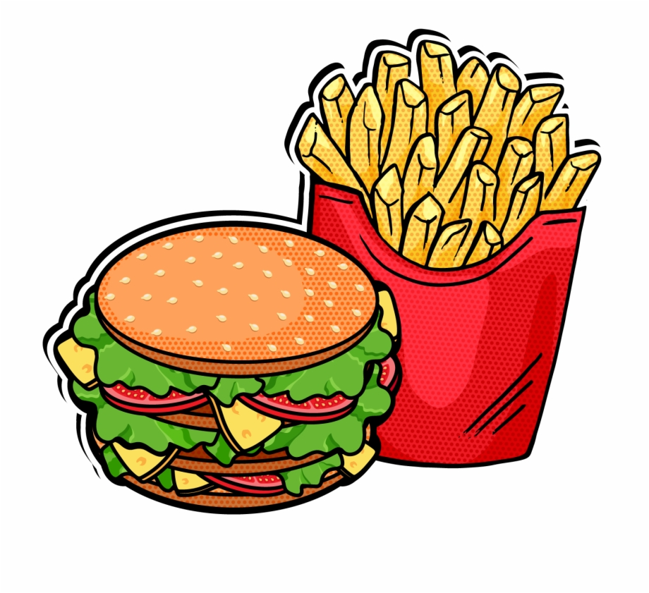 Pop Clipart Fast Food.