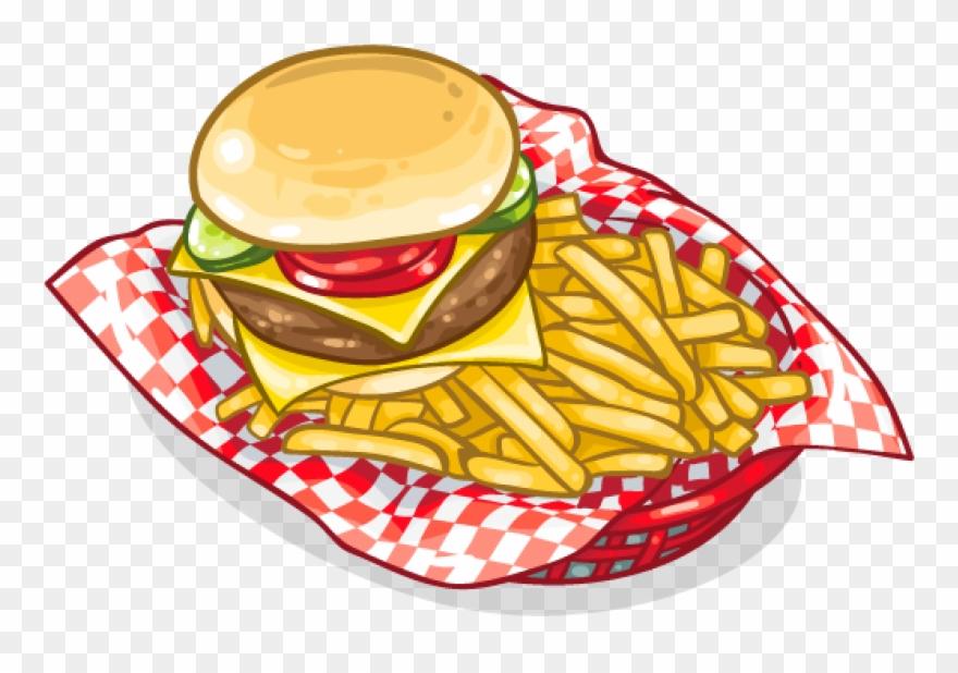 Scfrenchfries Frenchfries Fastfood Hamburger Burger.