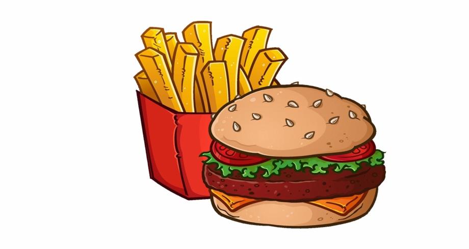 Graphic Download Hamburger French Cheeseburger Royalty.