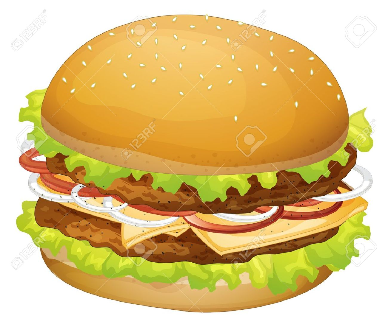 Hamburger Clipart.