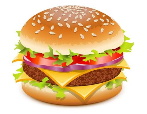 Burger Clipart Free.