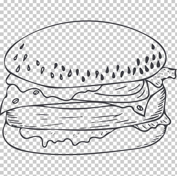 Cartoon Poster Black And White PNG, Clipart, Angle, Burger.