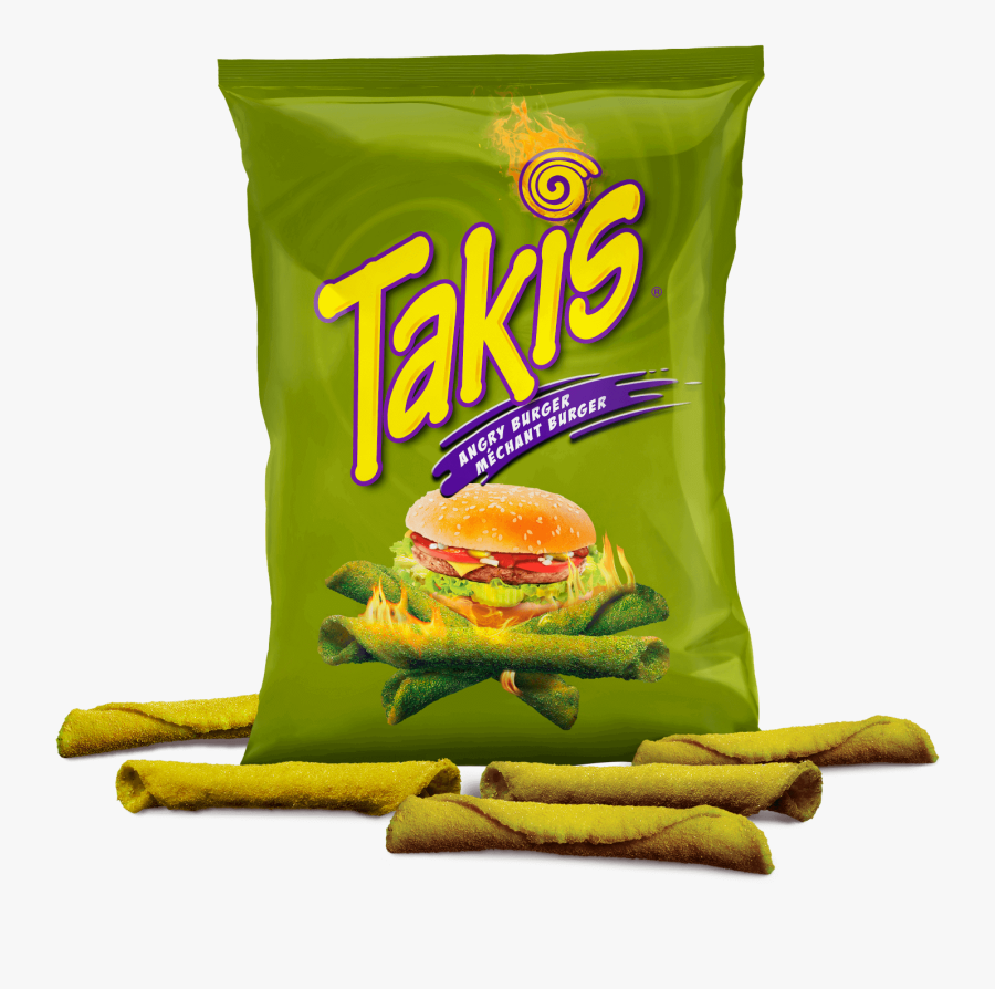 Takis Bag Angry Burger Clipart , Png Download.