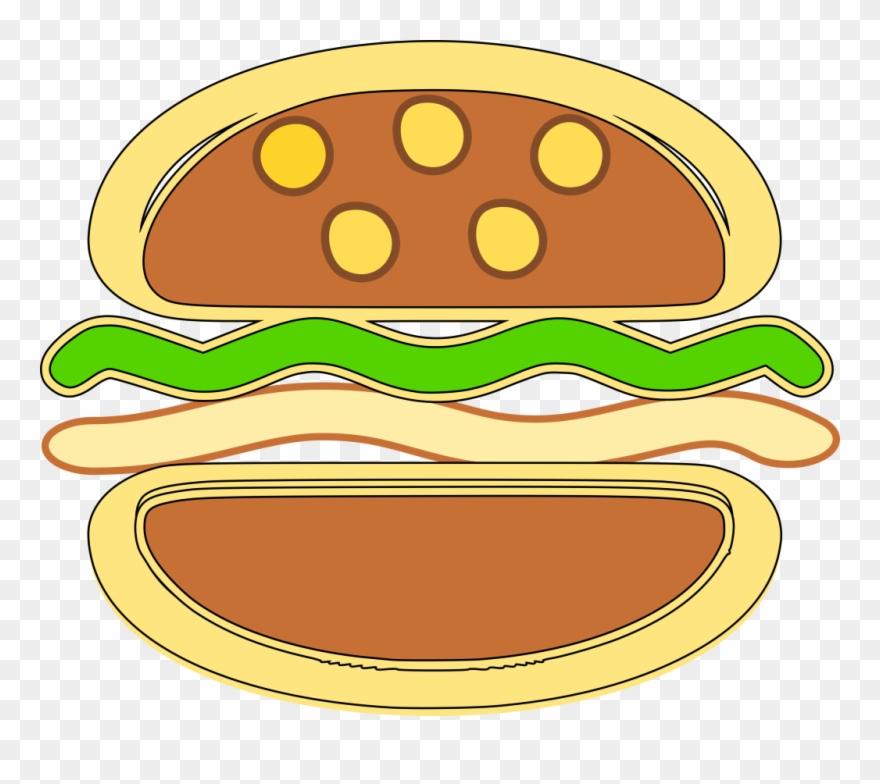 Burger Clipart Icon Picture.