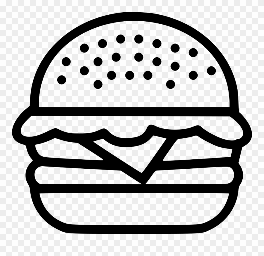 Hamburger Burger Food Junk Beef Chicken Png.
