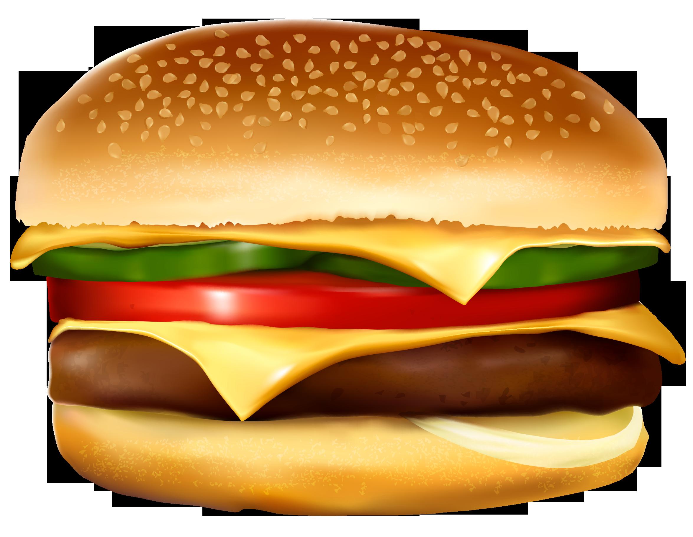 Burger PNG Vector Clipart.