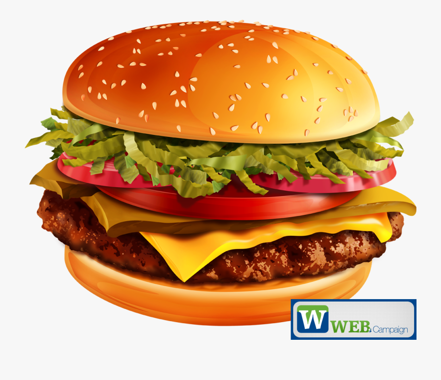 Transparent Burger King Clipart.