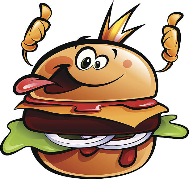 Burger King Illustrations, Royalty.