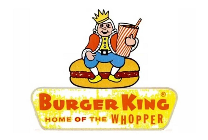 The Burger King logo and the history behind its brand.