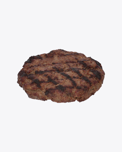 Download Burger Cutlet Transparent PNG on Yellow Images 360°.