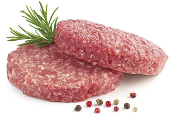 Beef Burger Patties.